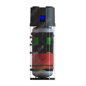 Boylerist 200 litre Çift Serpantinli Boyler Isı Pompası - Sıcak Su Isı Pompası
